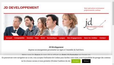 Site internet de Jd Developpement