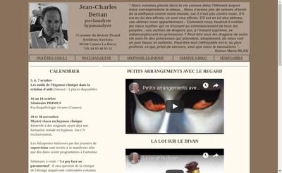 Site internet de Jean-Charles Bettan