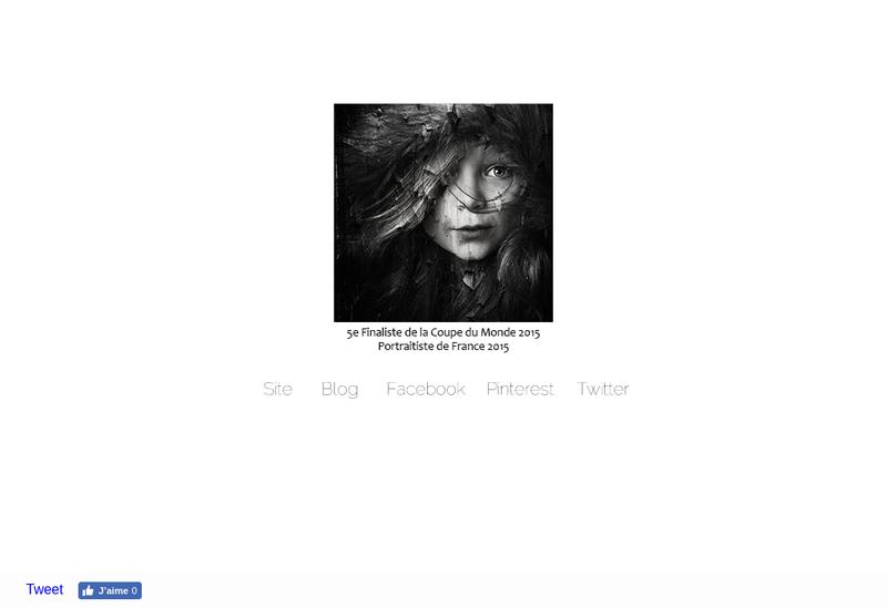 Capture d'écran du site de Studio Johanna Cavel