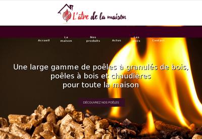 Capture d'écran du site de JPC Peinture