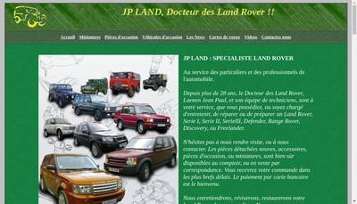 Site internet de JP Land