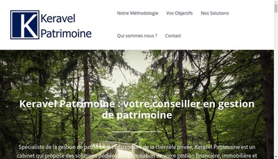 Site internet de Keravel Patrimoine