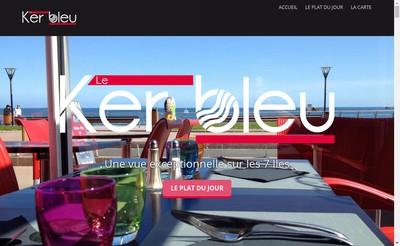 Site internet de Ker Bleu