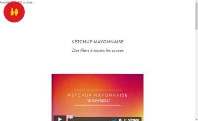 Site internet de Ketchup Mayonnaise