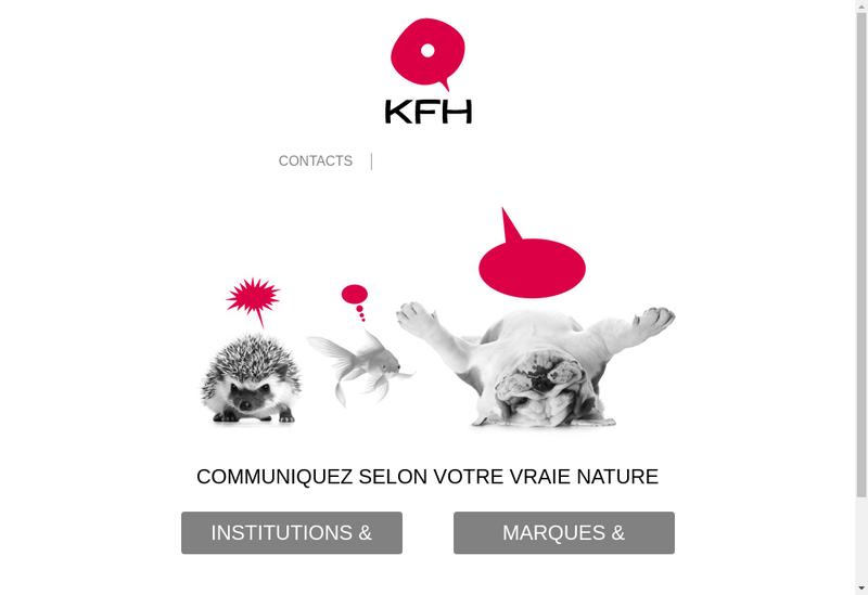 Capture d'écran du site de Kaolis - Francom - Kelo - H 23