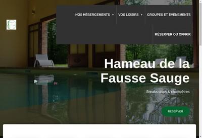 Site internet de Hameau de la Fausse Sauge