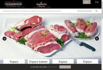 Site internet de La Chaiseronne