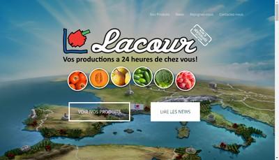 Site internet de Lacour Rene SA