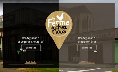 Site internet de La Ferme de Chez Nous