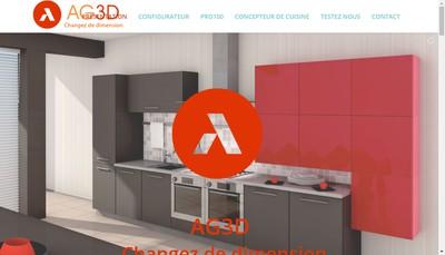 Site internet de L'Agence 3D