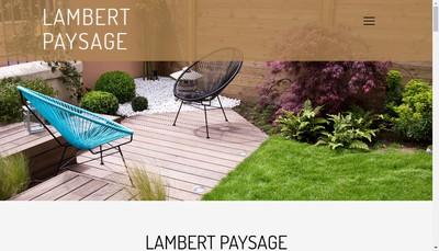 Site internet de Lambert Paysage