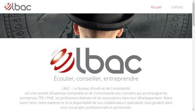 Capture d'écran du site de Le Bureau d'Audit et de Comptabilite