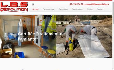 Site internet de Littoral Bois Service