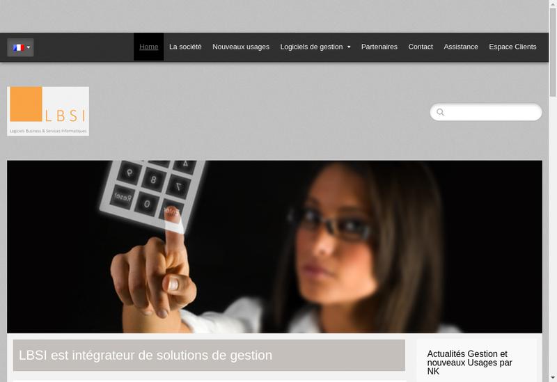 Capture d'écran du site de Energie Bien Etre