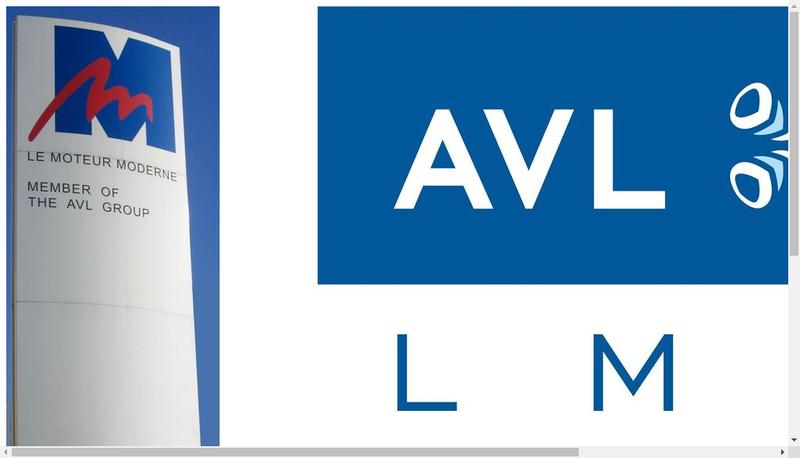 Capture d'écran du site de Avl Lmm SAS