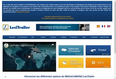 Site internet de Lecitrailer France