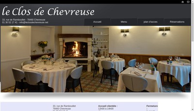 Site internet de Le Clos de Chevreuse