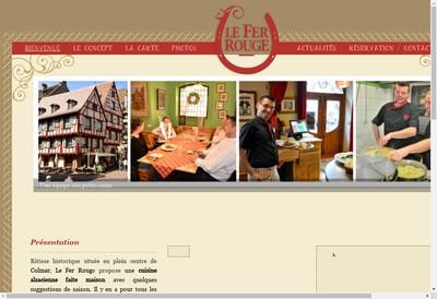 Site internet de Le Fer Rouge