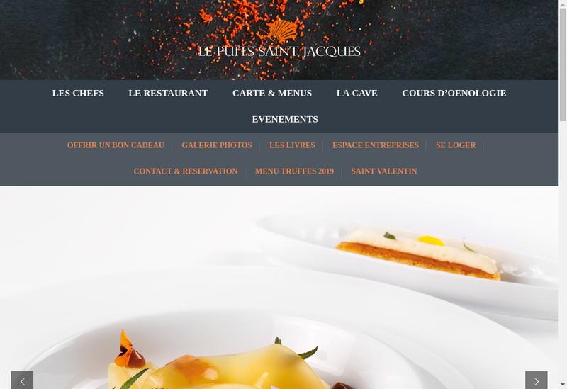 Capture d'écran du site de Le Puits Saint Jacques