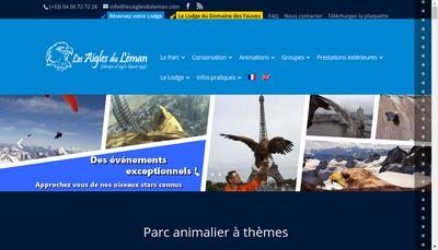 Site internet de Les Aigles du Leman