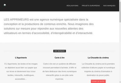 Site internet de Les Apprimeurs