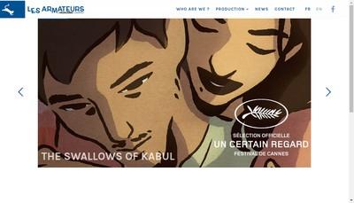 Site internet de Les Armateurs