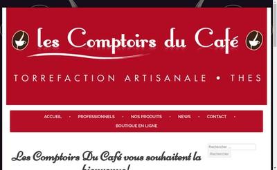 Site internet de Les Comptoirs du Cafe