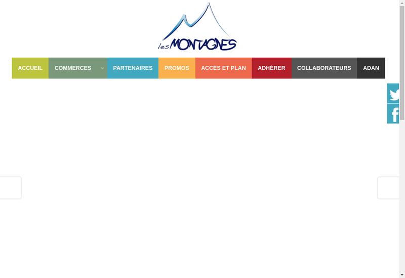 Capture d'écran du site de Les Opticiens
