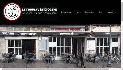 Site internet de Le Tonneau de Diogene