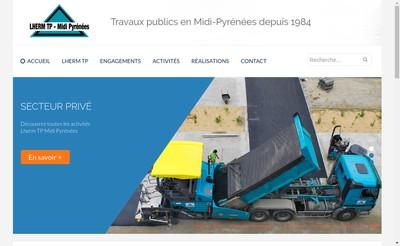 Site internet de Lherm TP - Midi Pyrenees