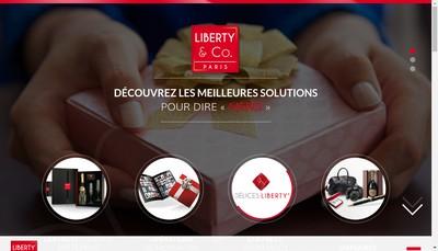 Site internet de Idee Cadeaux - Cadeaux Anniversaire- Cadeaux Entreprise- Cadeaux