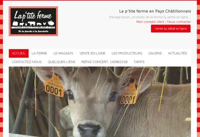 Capture d'écran du site de Libra