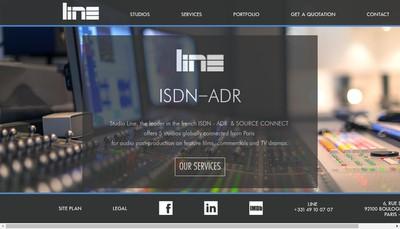 Site internet de Studio Line