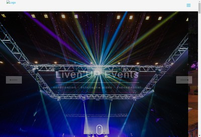 Site internet de Liven Up Events