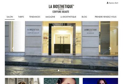 Capture d'écran du site de Digitalproximity
