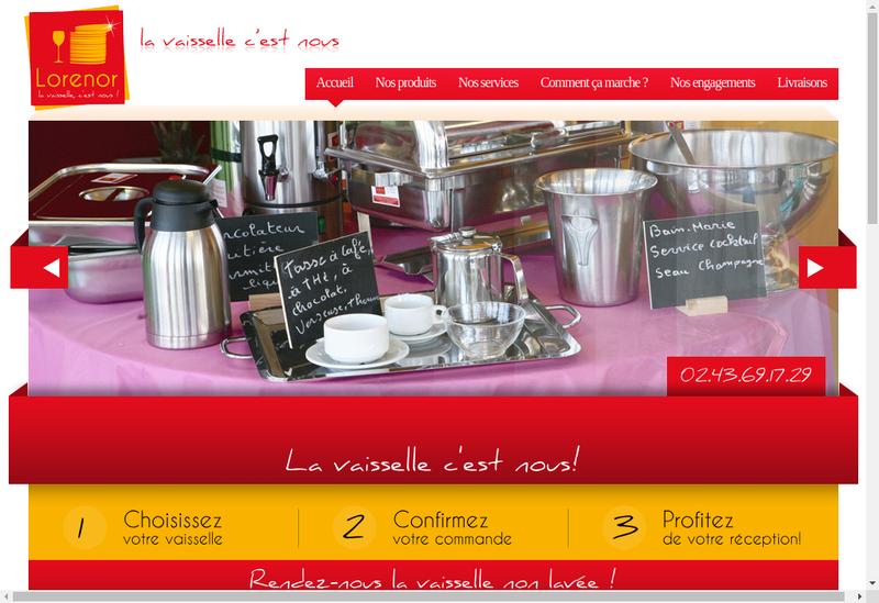 Capture d'écran du site de Hibern