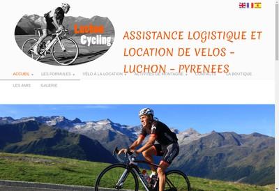 Site internet de Luchon Cycling