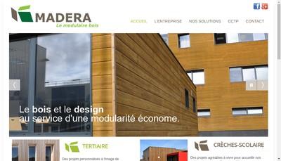 Site internet de Madera