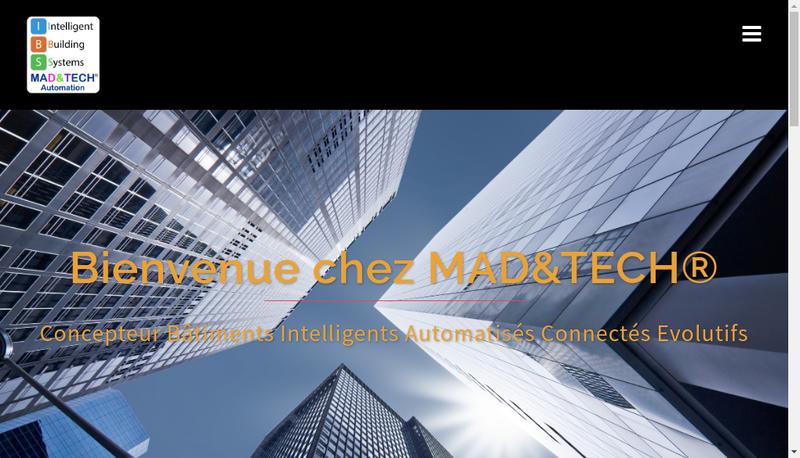 Site internet de Mad&Tech