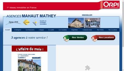 Site internet de Cabinet Mahaut Mathey