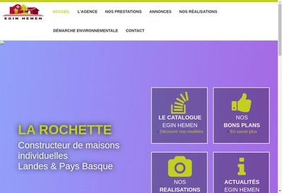 Site internet de Maisons Lca