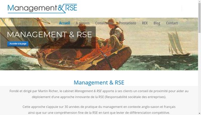 Site internet de Management & Rse