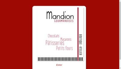 Site internet de Patisserie Mandion