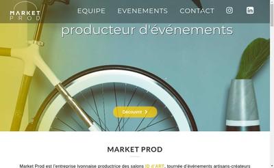 Site internet de Market Prod