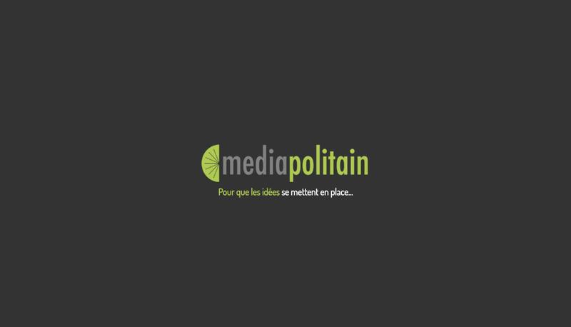 Site internet de Mediapolitain