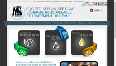 Site internet de Media Systeme