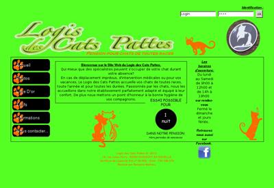 Capture d'écran du site de SA Couval