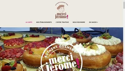 Site internet de Merci Jerome Developpement