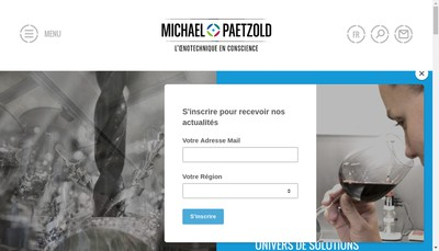 Site internet de Michael Paetzold