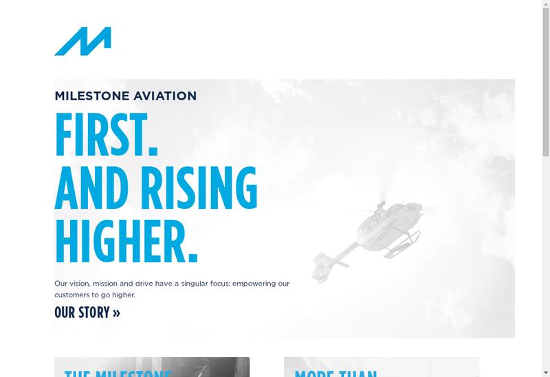 Capture d'écran du site de Milestone Aviation France No 2